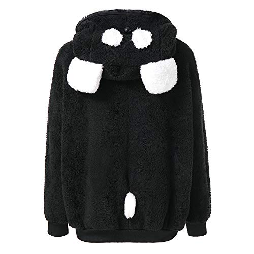 Best Prices! Amlaiworld Women Hooded Jacket Outerwear Cute Bear Ear Panda Winter Warm Hoodie Coat Pl...