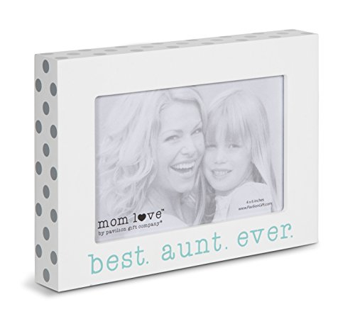 """Pavilion Gift Company 14138 Best Aunt Ever Photo Frame, 7-1/2 x 5-1/2"""""""