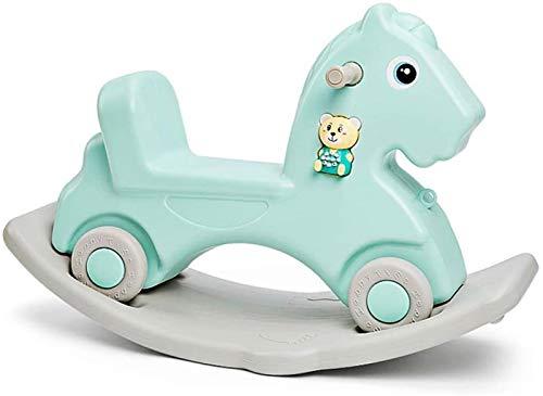 LITING Child Rocking Horse Se Engrosa con Juguete De Música 1-2-3 Año De Regalo De Edad
