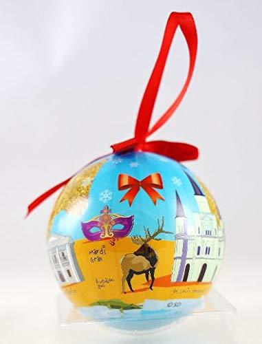 New Orleans Louisiana Souvenir Collectible Christmas Ball Ornament