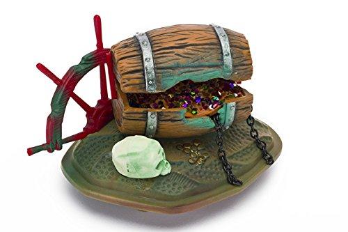 Penn Plax NMO1 Findet Nemo Fass mit Juwelen, Aquarium Figuren, 11 cm