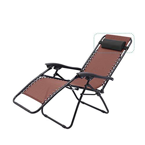 Stuhl Ersatzkissen, Universal Ersatz Kopfstütze Unterstützung Liege Zubehör Zero Gravity Stuhl Ersatz Light Neck Kissen für Klappstuhl