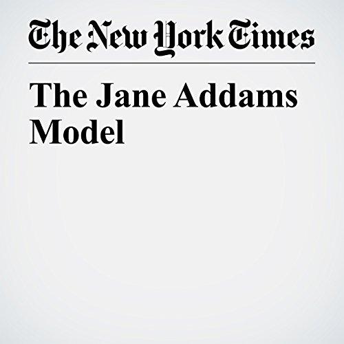 The Jane Addams Model copertina