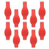 Tarjeta de pulsera de silicona de identificación, pulsera de control, acceso a lugares escénicos, salas de sauna, centros de baño de pies para piscinas(red)