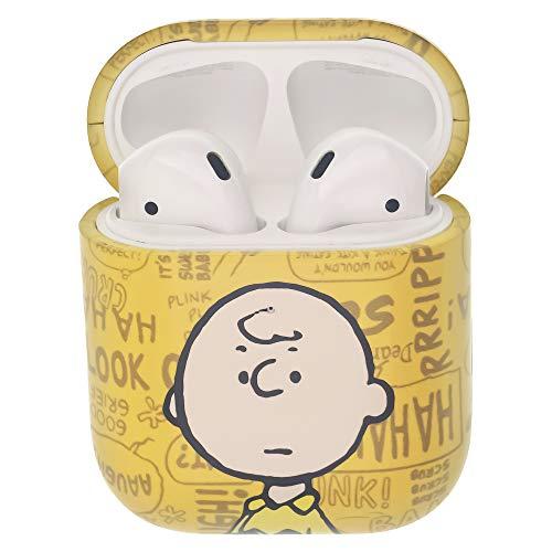 Peanuts Charlie Brown ピーナッツ チャーリー ブラウン AirPods と互換性があります ケース エアーポッズ用ケース 硬い スリム ハード カバー (言葉 チャーリー ブラウン) [並行輸入品]
