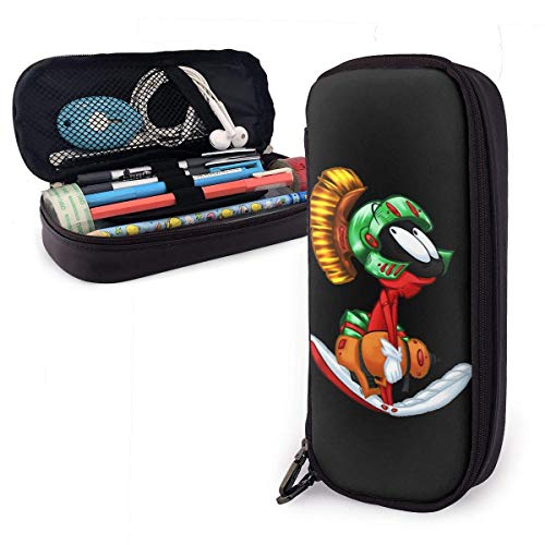 Marvin The Martian Planet Estuche, Estuches de gran capacidad/Estuche para bolígrafos/Estuche para lápices con múltiples compartimentos for Boys and Girls