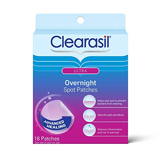 Clearasil Stubborn Acne Control 5in1 Pimple Patch, 18 Count (Pack of 6)