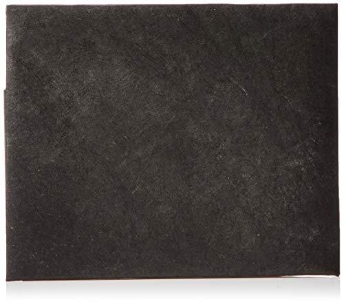 Paperwallet Tyvek Unisex Portemonnaie - Kohlenschwarz - Vegan & 100% Recyclebar
