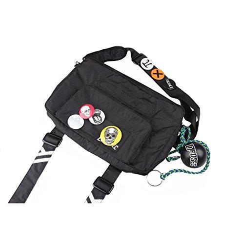 CosplayDiy Cosplay Sets of Watch Dogs II Marcus Mask Cap Bag Shirt - - Einheitsgröße