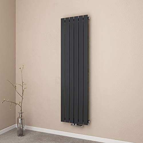 EMKE Heizkörper Flachheizkörper, Heizwand Design 1600x460mm Flache Form Einlagig Heizkörper für wohnzimmer