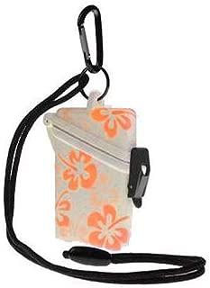 Witz Flower Surf Safe Waterproof Case (Orange)