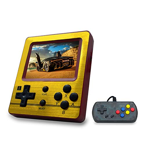 Classic Retro Video Game Player Portable Game Console 16GB 4.3 Full View TFT Screen 3000 Classic Games Youth BAORUITENG Retro Game Console