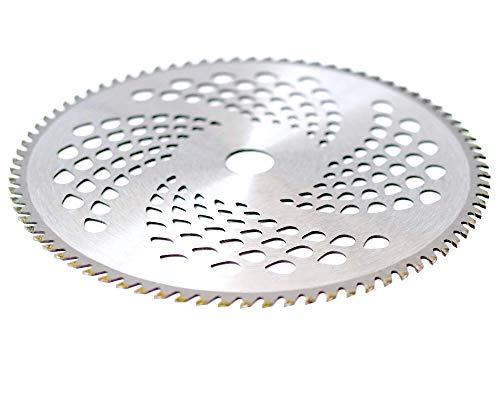 Hochwertiges Qualitäts Hartmetall Kreissägeblatt Sägeblatt für Motorsensen Freischneider 255x25,4mm 60 Zähne