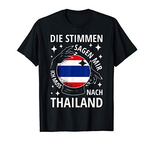 Thailand Fahne Urlaub Thai Shirt Thailändische Flagge T-Shirt