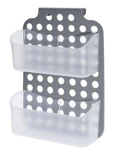 Spetebo Kunststoff Duschregal - 36x25 cm - Bad Hängeregal Duschkorb Duschablage Badezimmer Regal