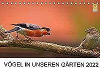 Voegel in unseren Gaerten 2022 (Tischkalender 2022 DIN A5 quer): Heimische Vogelarten in unseren Gaerten. Fotografiert von Lutz Klapp. (Monatskalender, 14 Seiten )