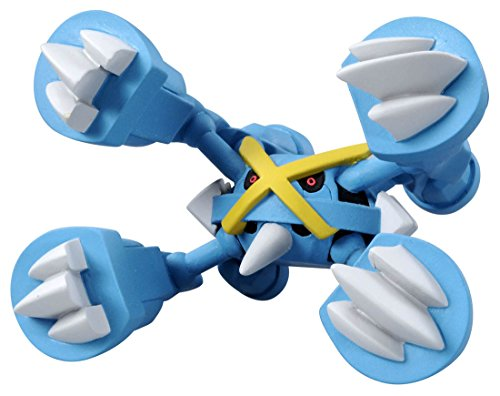 Takaratomy Pokemon XY Monster Collection Mega Evolution Mega Sinker Mega Metagross Action Pack (4-Piece)