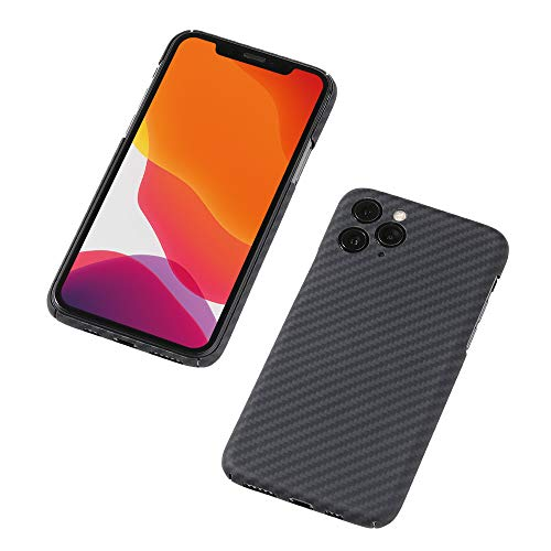 Deff(ディーフ) Ultra Slim & Light Case DURO(デューロ) Special Edition for iPhone 11 Pro Max アラミド繊維素材 極薄0.7mm 重さ約12g 11 Pro Max 意匠登録中