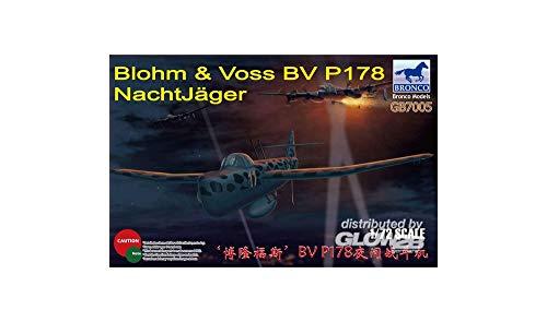 Unbekannt Bronco modèles Gb7005 – Modèle kit Blohm & Voss BV P178 Night Hunter