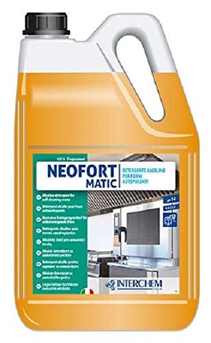 Neofort Matic detergente alcalino per forni autopulenti - Confezione : 2 taniche da kg.5