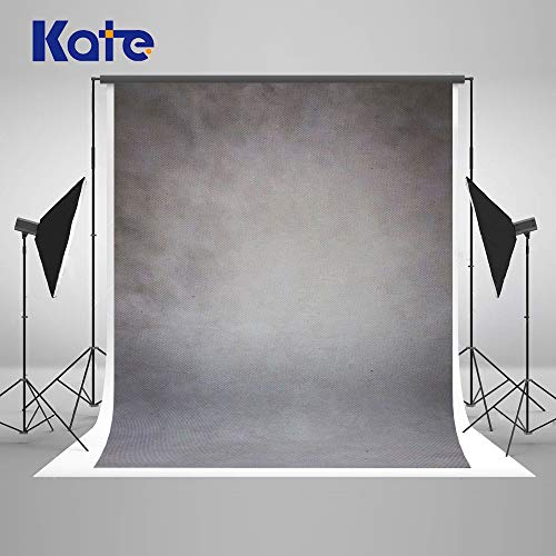 Kate 5×7ft(1.5×2.2m) Grauer Abstrakter Fotografie Hintergrund Porträt Foto Hintergrund für Fotograf Stoff