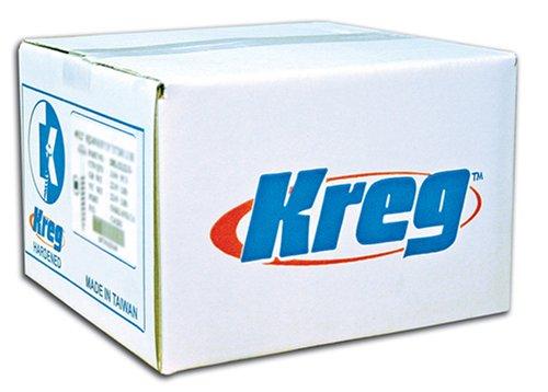 "Kreg SML-C250B-2000 Blue-Kote Weather Resistant Pocket Hole Screws - 2 1/2"", 8 Coarse, Washer Head, 2000 count"
