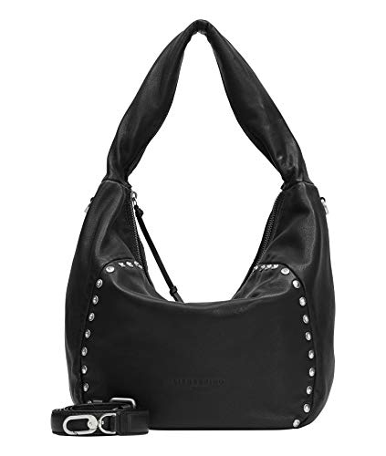 Liebeskind Berlin Farrah Hobo, Medium (28 cm x 45 cm x 15cm), black