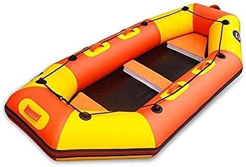 Hammer Rafting en Barco, Kayak Espesado Resistente al Desgaste Barco Inflable, Barco Inflable en Aguas bravas, Bote de Goma, Kayak, una Persona Kayak Perfecto for la Pesca
