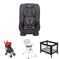 Group 0+/1 car seat - Suitable from birth to approx. 4 years (0-18kg) Rearward facing for longer - from birth to approx. 4 years (0-18kg) Suitable from birth to approx. 3 years (0-15kg) A compact fold makes packing up quick and makes travelling with ...