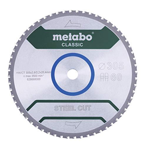 Metabo 628669000 Hoja de sierra circular
