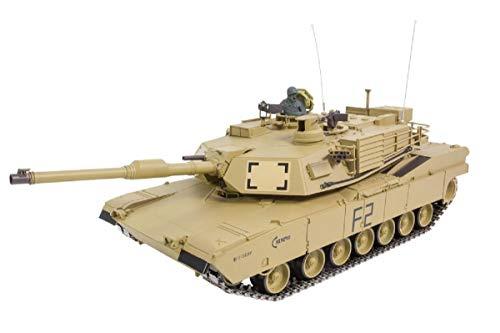 RC Panzer 1:16 U.S.M1A2 Abrams R&S/2.4GHZ Metallketten/Metallgetriebe/QC