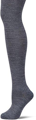 KUNERT Damen Soft Wool Cotton Leggings, 100 DEN, Grau (Pfeffer 0020), 45/46 (Herstellergröße: 45/47)