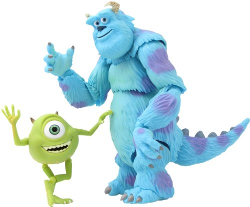 Revoltech No. 028 Monsters Inc. Mike and Sully figurine(Japan import)