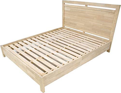 Destock Mobles - Letto con struttura 160 x 200 cm, in legno massiccio