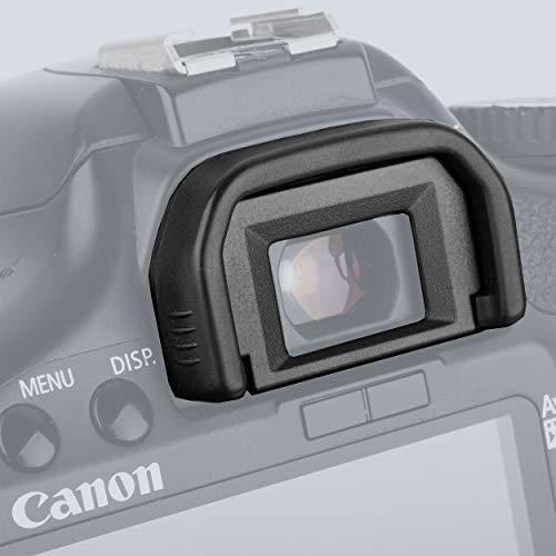 Ruberg-Augenmuschel Gummi für Canon EF Eyecup Okular Sucher Okularmuschel Okularer Viewfinder Okular-Protector EOS 1300D 1200D 1100D 1100D 760D 750D 700D 650D 600D 550D 500D 450D 450D 400D 350D