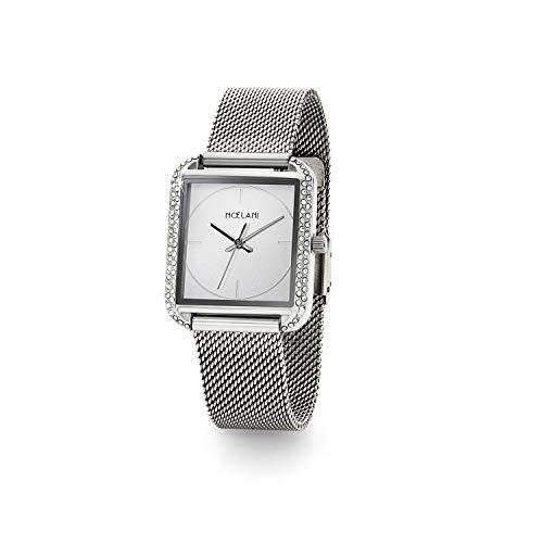 NOELANI Damen Analog Quarz Uhr mit Edelstahl Armband 2022462
