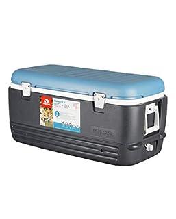 Igloo 49496 MaxCold Cooler, Jet Carbon/Ice Blue/White, 100 Quart (B01B4PB0NA)   Amazon price tracker / tracking, Amazon price history charts, Amazon price watches, Amazon price drop alerts