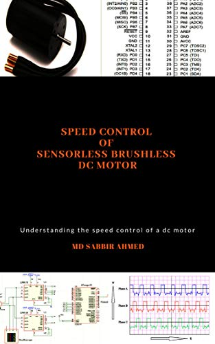 Speed Control of Sensorless Brushless DC Motor: brushless dc motor controller,permanent magnet dc motor,large dc motors,brushless electric motor,brushless dc motor,dc motors (English Edition)