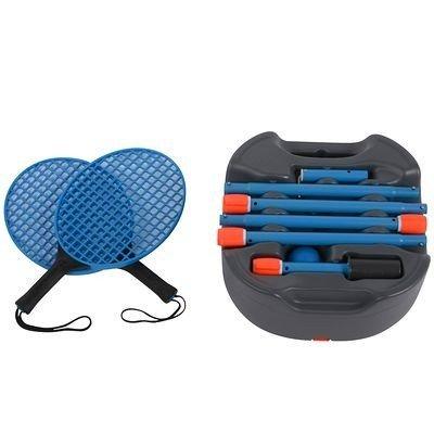 Artengo TurNBall Set (1 Pfosten, 2 Schläger, 1 Kugel), grau / blau, Einheitsgröße