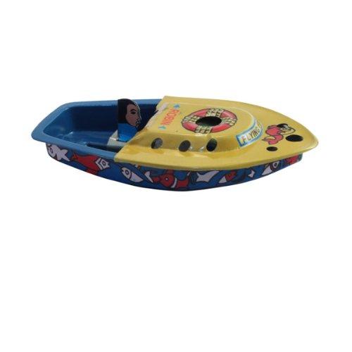 Superfreak® Blechboot°Blechspielzeug°Knatterboot Boot Robin