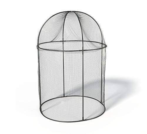 Haxnicks Frame050101 Steel Round Fruit Cage, Black, 100 x 100 x 150