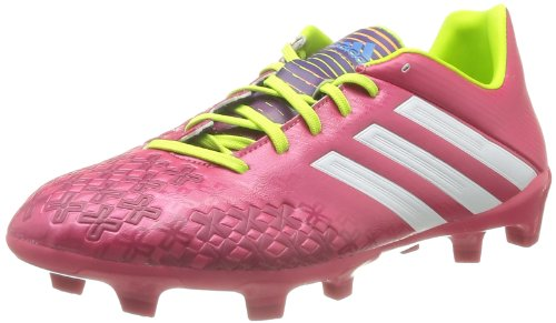 Adidas P Absolado LZ TRX FG Zapatos de Fútbol Hombres, - rosa - weiß - grün, 44