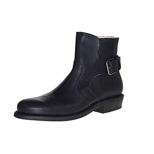 HOBO Men - Afghan ML 31071A - Black campero, Schuhgröße:EUR 46