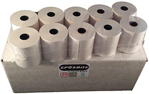 eposbits® Marke 20Bonrollen?Für Casio 130CR
