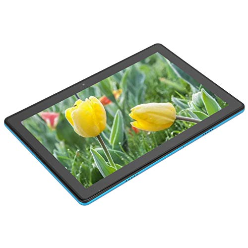 Limouyin Tableta, 10 Pulgadas, procesador Octa-Core, Pantalla de visualización HD IPS de 1280x800, Tarjetas SIM Dobles, batería de Gran Capacidad de 5000 mAh, cámara Dual, para Tableta Android9.0(EU)
