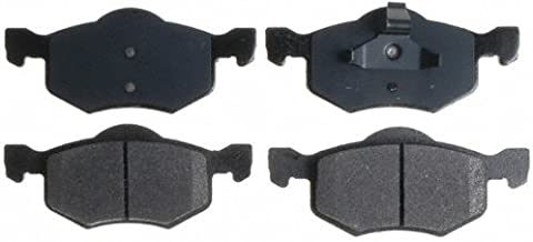 Raybestos SGD843M Service Grade Semi-Metallic Disc Brake Pad Set
