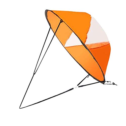 LIOOBO Vela Plegable portátil con Ventana Clara Accesorios de Kayak para Vela...