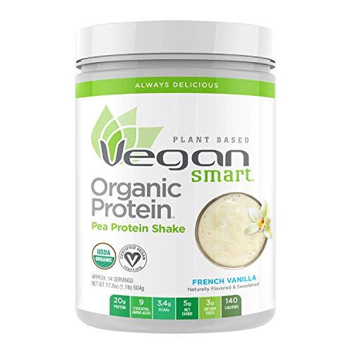 Vegansmart Plant Based Organic Pea Protein Powder by Naturade