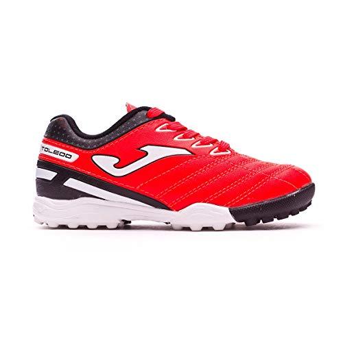 Joma Toledo Turf Junior voetbalschoen, rood