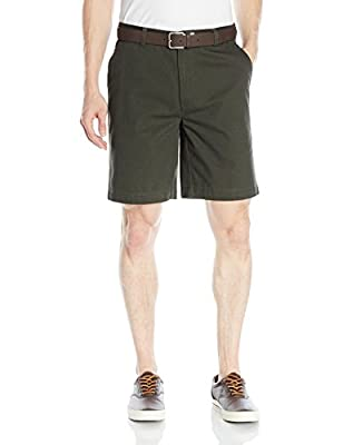 "Amazon Essentials Men's Classic-Fit 9"" Short, Olive, 38"